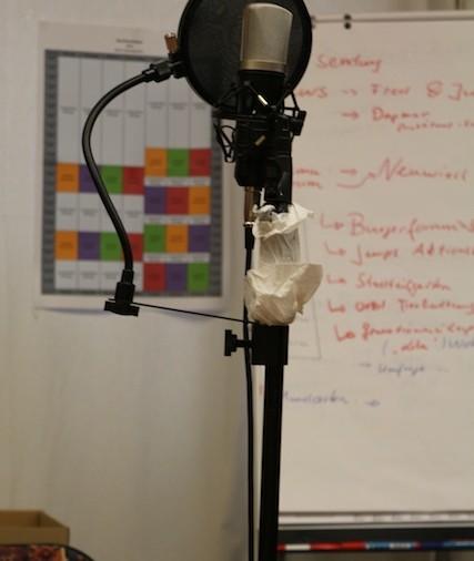 Vom Plan zum Mikrofon
